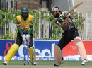 Rameez Raja was out bowled, Qualifying Round, Group A, Larkana Region v Quetta Region, Rawalpindi, Sep 1, 2015