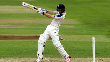 Adam Lyth made his first half-century since early June