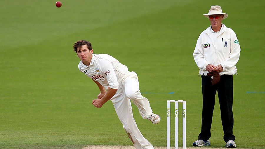 Zafar Ansari worked through Derbyshire's top order