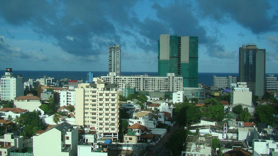 The Colombo skyline