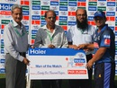 Khalif Latif struck an unbeaten fifty and was named Man of the Match, Group B: DM Jamali Region v Karachi Region Blues, Rawalpindi, Sep 3, 2015
