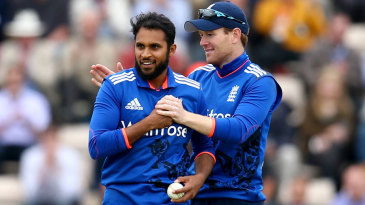 Adil Rashid made the breakthrough