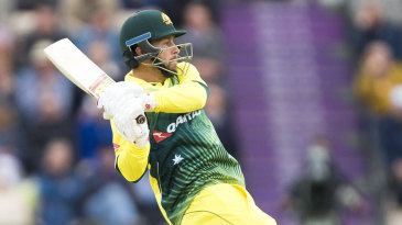 Matthew Wade fought back strongly for Australia