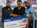 Faisal Mubashir was adjudged man of the match for his unbeaten 79 and 3 for 27, Group B, Bahawalpur Region v FATA Region, Rawalpindi, September 3, 2015