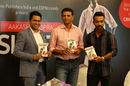 Rahul Dravid and Ajinkya Rahane unveil Aakash Chopra's book, The Insider, Mumbai, September 4, 2015