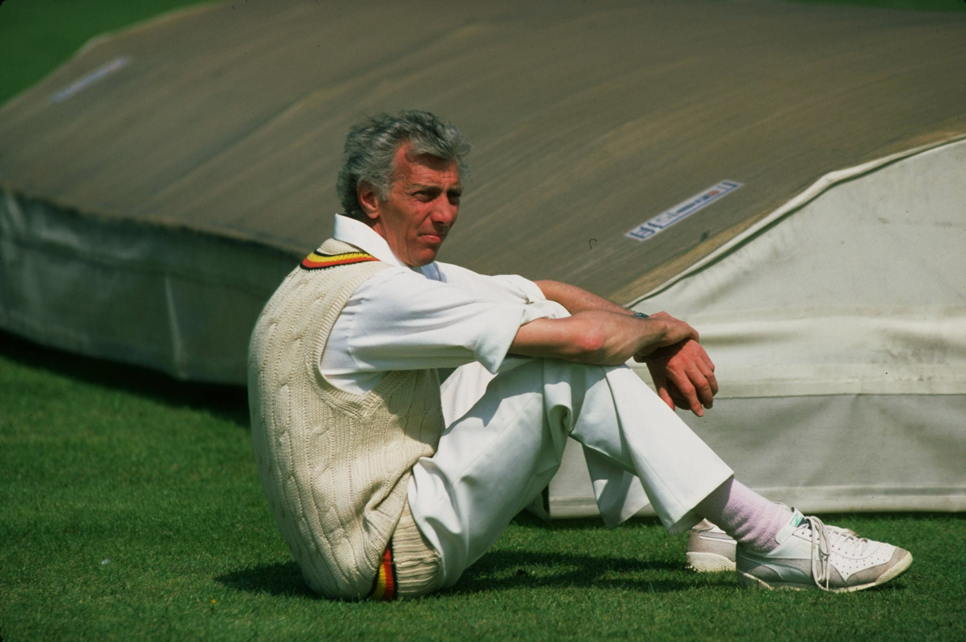 Don Wilson during his tenure as MCC coach, at a 1983 game