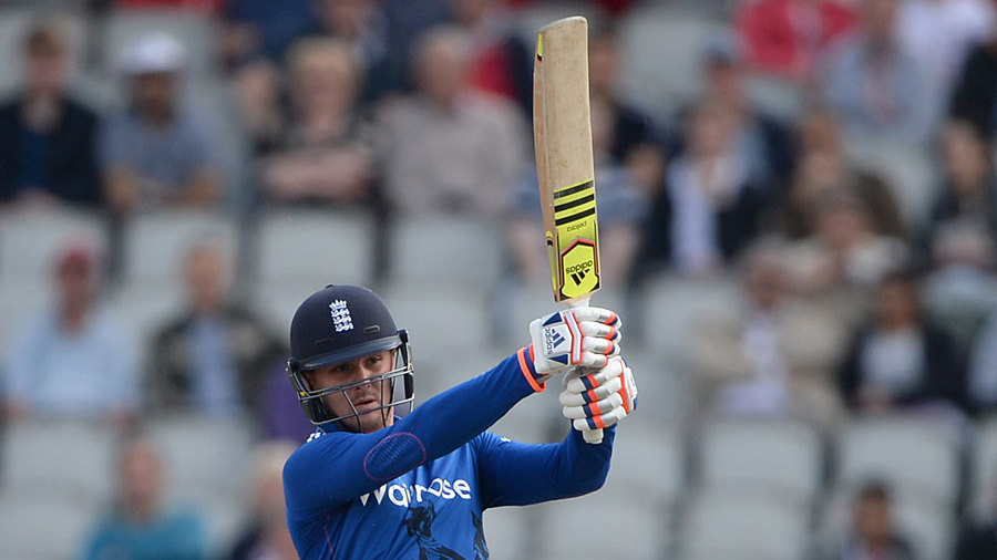 Jason Roy looked in good touch after England won the toss and chose to bowl at Old Trafford