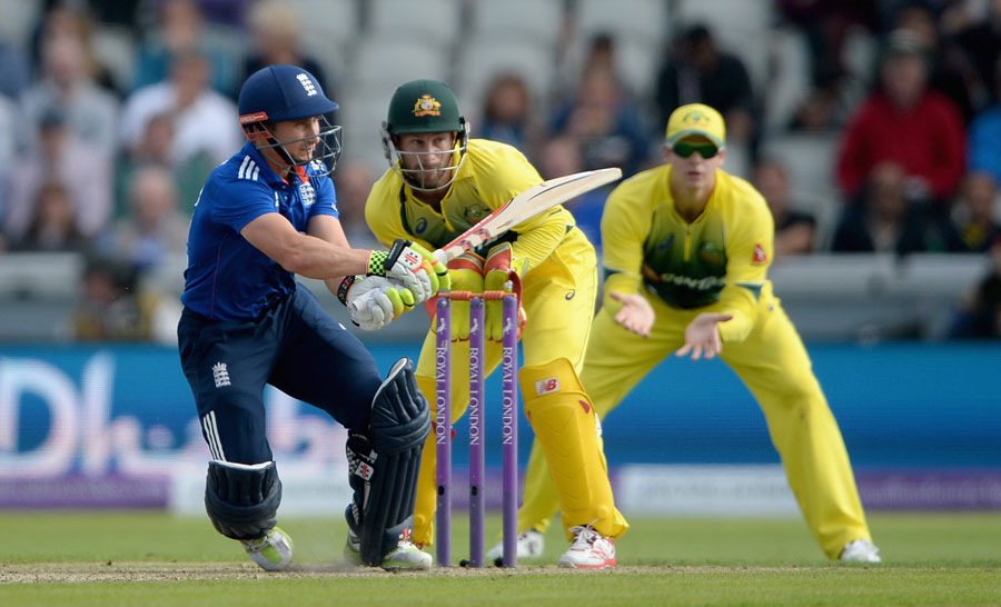 James Taylor was adept at running ones and twos, going to a half-century off 59 balls with just one boundary
