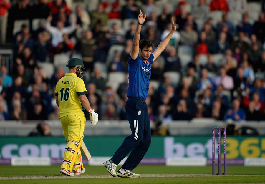 With Australia chasing a record score on the ground, they lost Joe Burns early on...