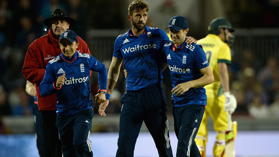 Liam Plunkett also claimed three-for as England's bowlers closed out a big victory that kept them alive in the series