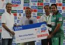 Nasir Jamshed was Man of the Match for scoring 62 off 36 balls, Bahawalpur Region v Rawalpindi Region, Haier Mobile T-20 Cup, Rawalpindi, September 8, 2015