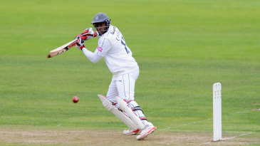 Michael Carberry in action for Hampshire