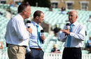 Sky Sports commentators David Gower, Ian Botham and Andrew Strauss have a chat, The Oval, August 23, 2013