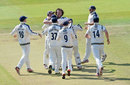 Ryan Sidebottom wrapped up Middlesex's innings with 5 for 18, Middlesex v Yorkshire, County Championship, Division One, Lord's, 1st day, September 9, 2015