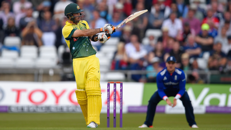 Glenn Maxwell counterattacked impressively for Australia