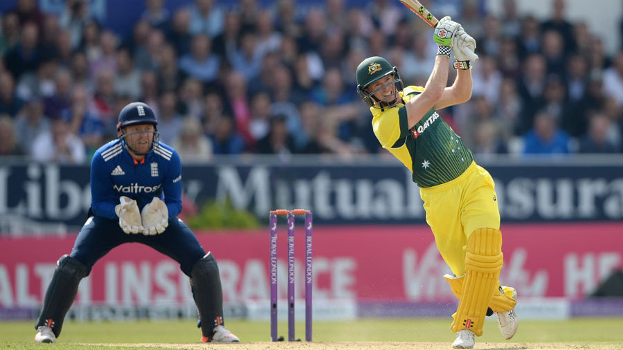 George Bailey's 75 set Australia up for a late-innings surge