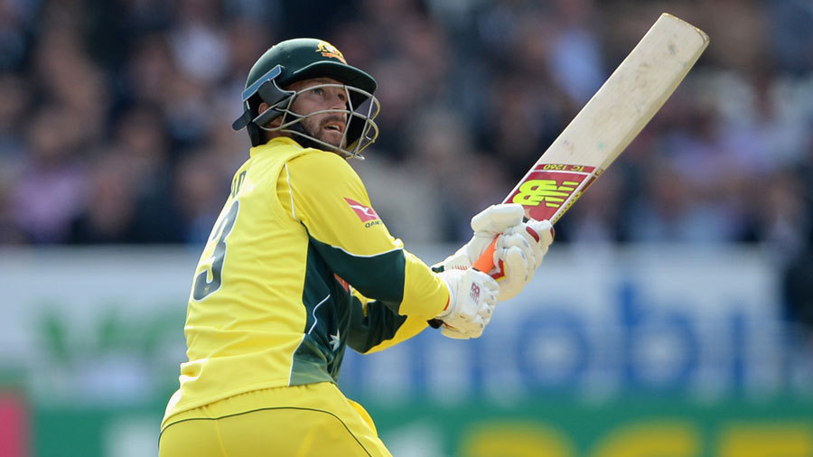 ... while Matthew Wade finished on 50 from 26, as Australia took 65 from their last five overs