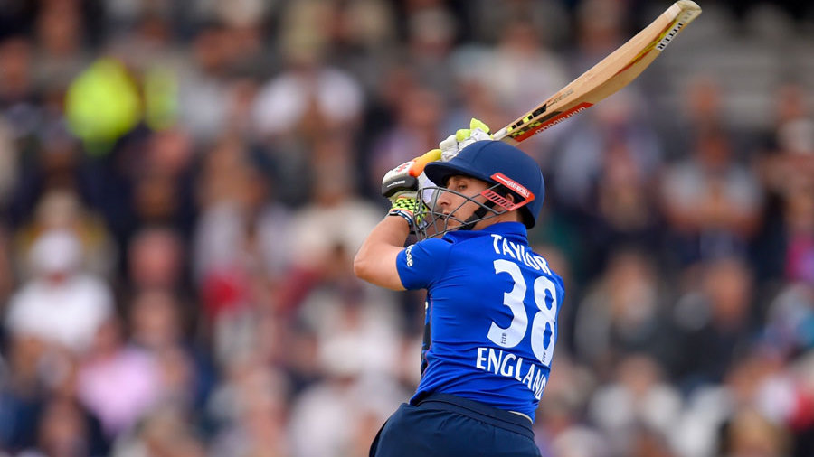 ..but James Taylor's 41 from 42 balls restored England's momentum