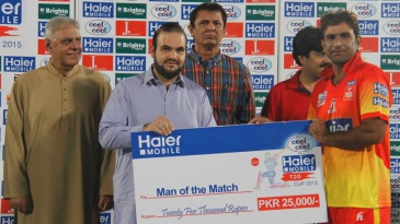 Iftikhar Ahmed struck a match-winning half-century