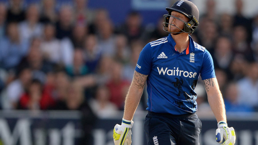 Australia kept chipping away, with Ben Stokes falling for 41