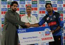 Khurram Manzoor was named Man of the Match for his 62 off 42, Islamabad Region v Karachi Region Blues, Group B, Haier Mobile T20 Cup, Rawalpindi, September 11, 2015