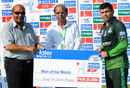 Kamran Akmal with his Man-of-the-Match award for a knock of 105 off 57 balls, Multan Region v Karachi Region Whites, Haier Mobile T20 Cup, Rawalpindi, September 12, 2015