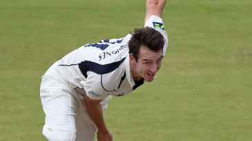 Toby Roland-Jones followed a maiden century by a decisive bowling display as Middlesex inflicted Yorkshire's first Championship defeat for 26 games