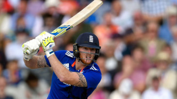 Ben Stokes top-scored with 42