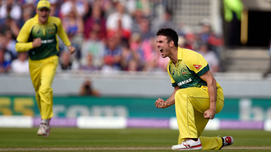 Mitchell Marsh ripped out the middle order with 4 for 27