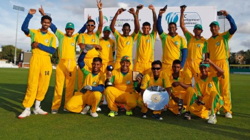 Suriname defeated Guernsey by six wickets to claim the title