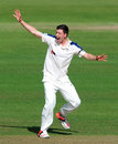Matthew Fisher appeals for a wicket, Hampshire v Yorkshire, County Championship, Division One, Ageas Bowl, 1st day, September 14, 2015