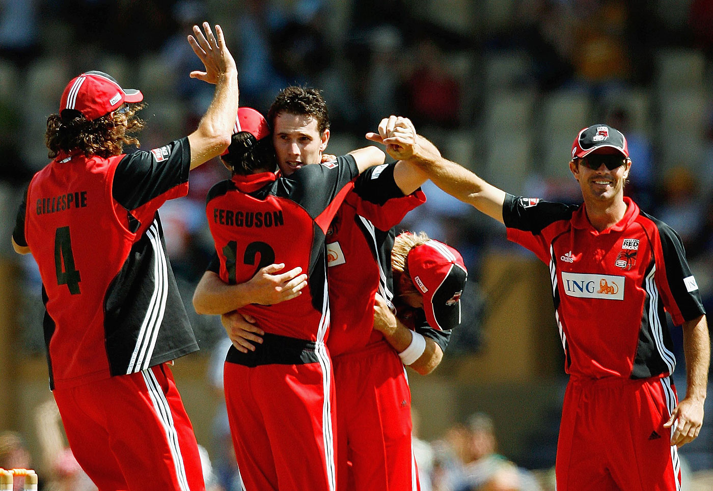 Redback fightback: Adelaide Oval was the place to be on February 26, 2006