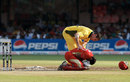 Shaun Tait is concerned after Zubin Surkari was struck by a delivery , Australia v Canada, Group A, World Cup, Bangalore, March 16, 2011