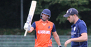 Pieter Seelaar scored his maiden List A fifty, Netherlands v Scotland, WCL Championship, Amstelveen, September 15, 2015