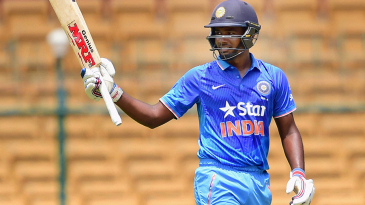 Sanju Samson top-scored for India A with 73 off 76 deliveries