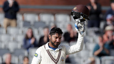 Kumar Sangakkara eased to 118