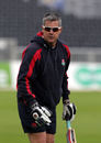 Ashley Giles, Lancashire's director of cricket, can look forward to First Division Championship cricket in 2016. Lancashire v Surrey, LV= Championship Div Two, Old Trafford, September 17, 2015