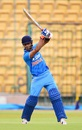 Unmukt Chand forces the ball off the back foot, India A v Bangladesh A, 2nd unofficial ODI, Bangalore, September 18, 2015