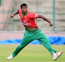 Rubel Hossain claimed four wickets, India A v Bangladesh A, 2nd unofficial ODI, Bangalore, September 18, 2015