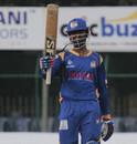 Mohammed Taha scored a 56-ball 93, Belagavi Panthers v Hubli Tigers, KPL 2015, Qualifier 2, Mysore, September 19, 2015