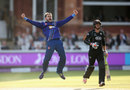 Jack Taylor celebrates the wicket of Tom Curran, Gloucestershire v Surrey, Royal London Cup final, Lord's, September 19, 2015