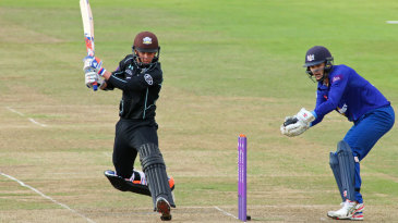 Sam Curran took Surrey to the brink of victory before falling for 37