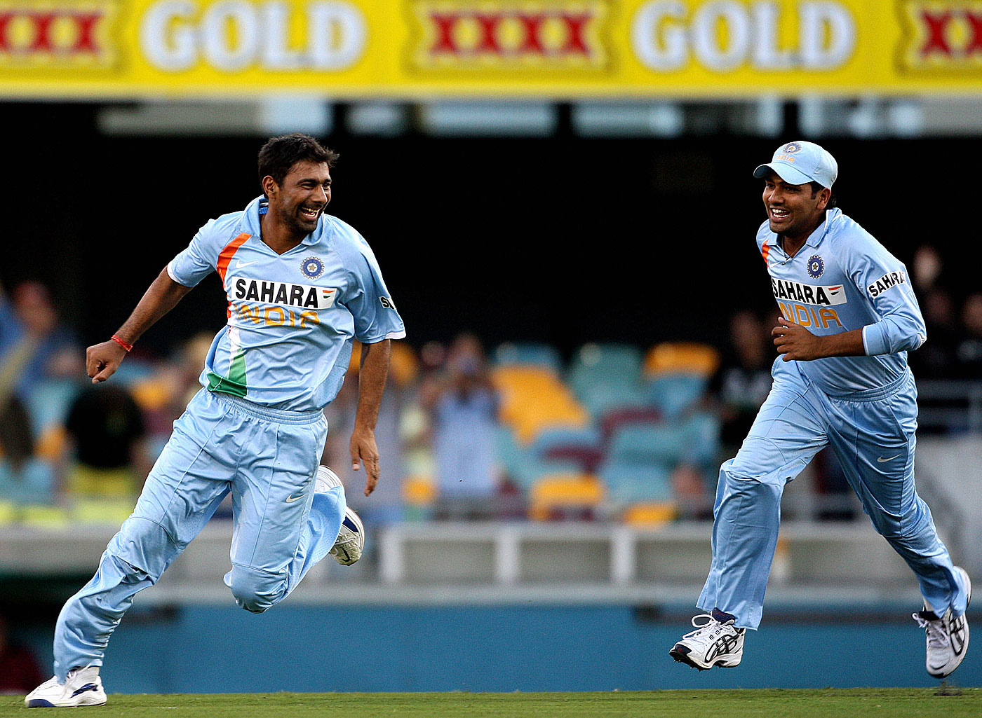 The spell of 4 for 46 at the Gabba won Praveen Kumar the Man-of-the-Match award and with it the 2008 CB Series for India