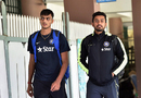 Axar Patel and Karun Nair at India's conditioning camp in Bangalore, September 22, 2015