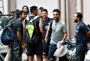 India players gather at the National Cricket Academy ahead of a training camp, September 22, 2015