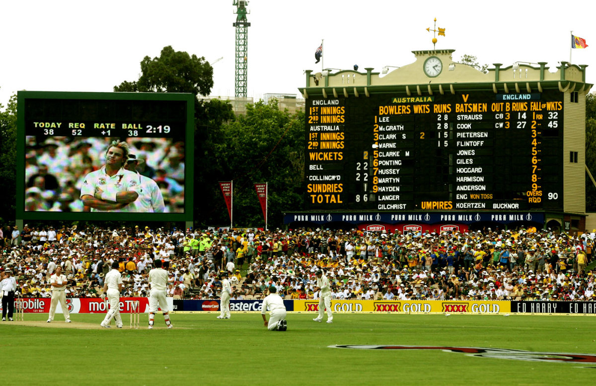 Shane Warne is disappointed