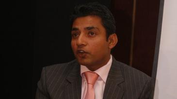 Ajay Jadeja during a book launch