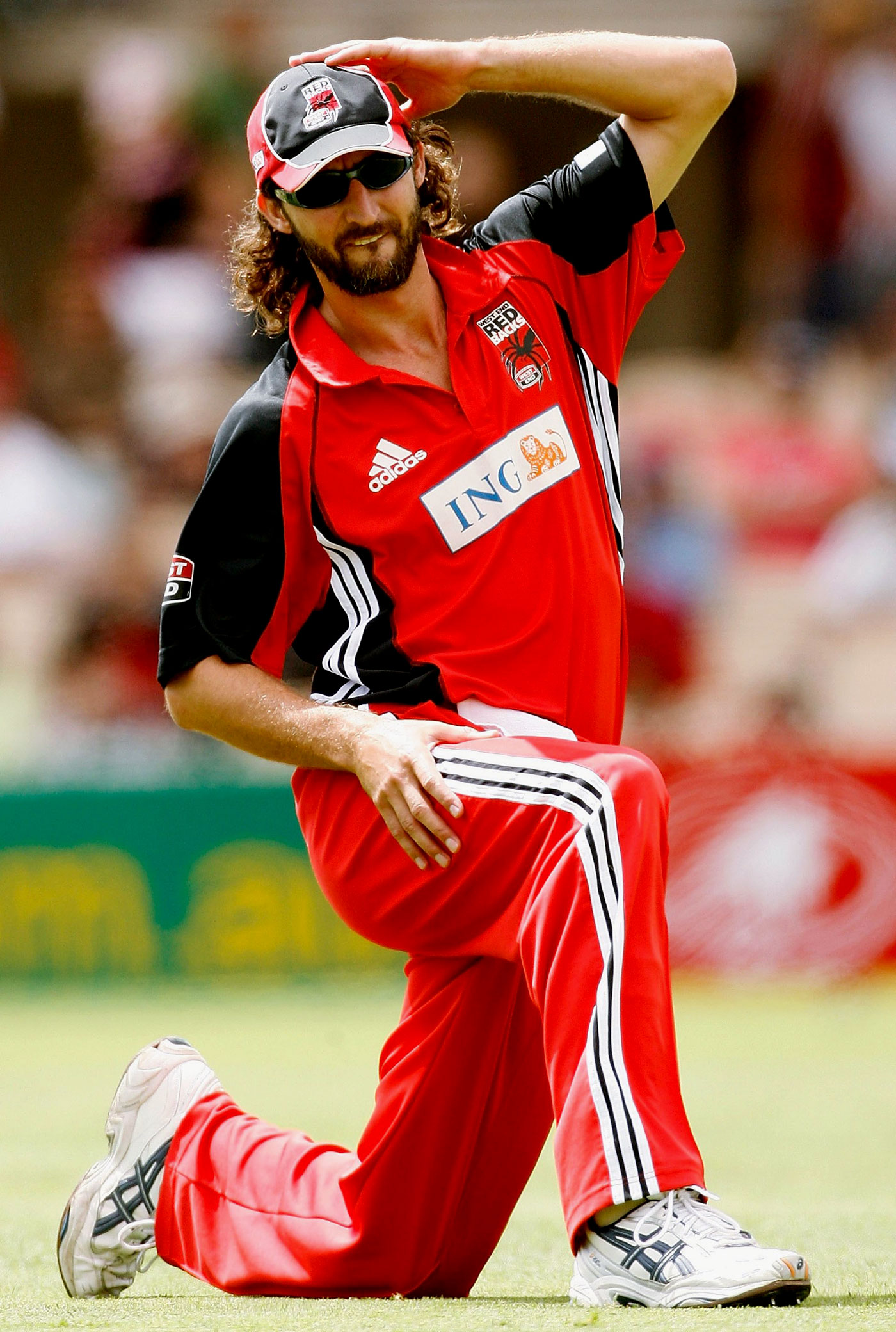 The world-class Gillespie went wicketless in his ten overs in the match
