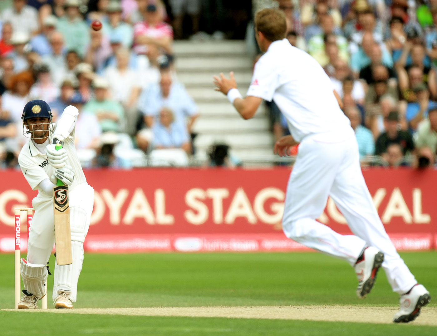 According to Tyson, unlike most Indian batsmen, Rahul Dravid had the initial backwards movement that helped him on bouncy pitches