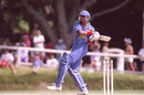 Athula Samarasekera bats, Sri Lanka v Zimbabwe, New Plymouth, New Zealand, 23 Feb 1992